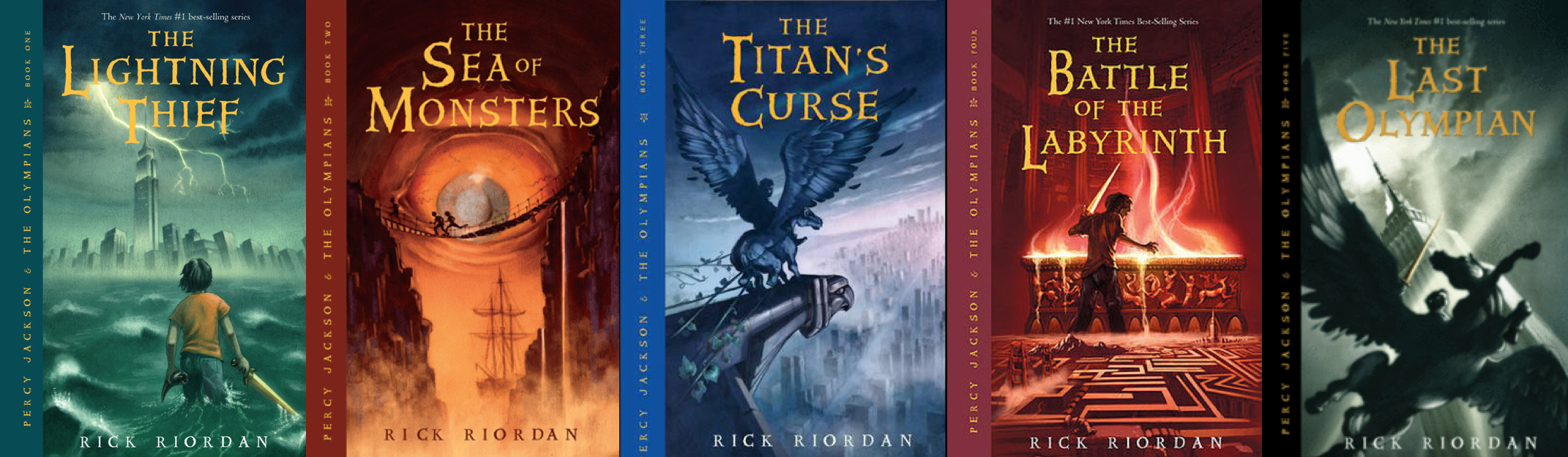 Let's Talk About The Percy Jackson Series – The Little ...