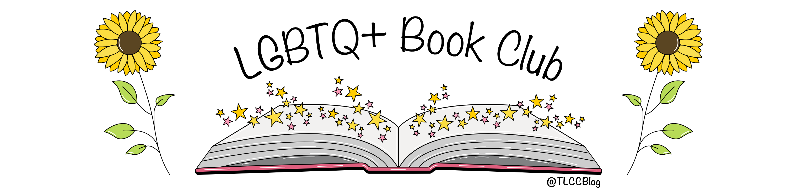 LGBTQ+ Book Club Header